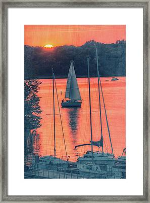 Come Sail Away Framed Print by Pamela Williams