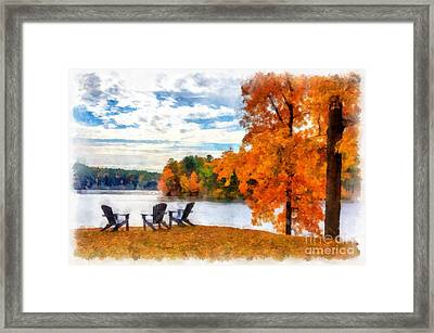 Come Sit For A While Framed Print by Edward Fielding