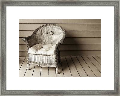Come Sit With Me Framed Print by Marilyn Hunt