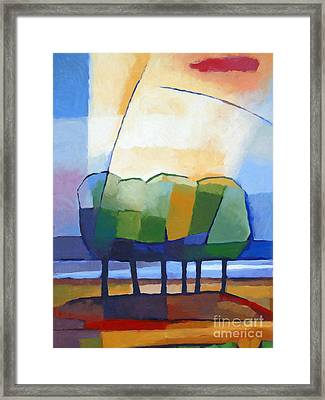 Come Spring Framed Print by Lutz Baar