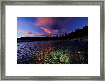 Framed Print featuring the photograph Come To My Window by Sean Sarsfield