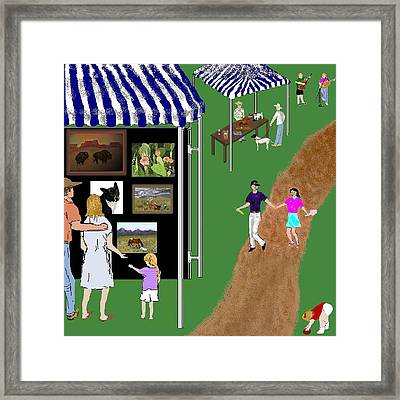 Come To The Fair Framed Print by Carole Boyd