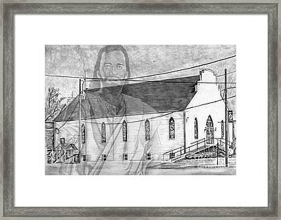 Come Unto Me Framed Print by Bill Richards
