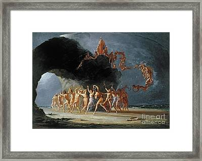 Come Unto These Yellow Sands Framed Print by Richard Dadd