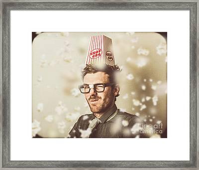 Comedy Movie Geek Framed Print by Jorgo Photography - Wall Art Gallery