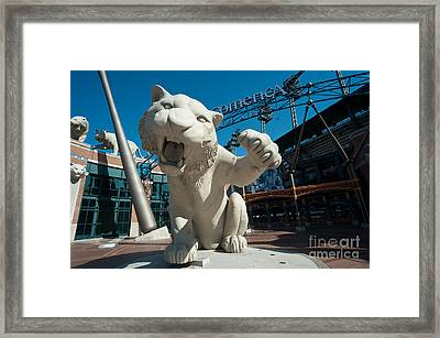 Comerica Park Entrance Framed Print