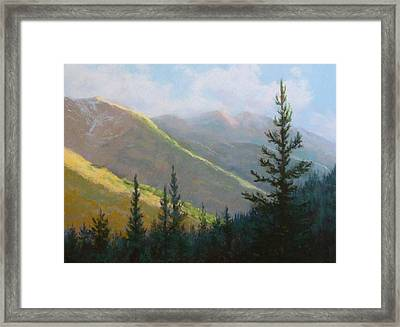 Comes The Dawn Framed Print by Debra Mickelson