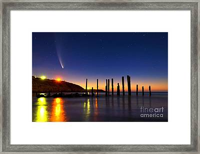 Comet Mcnaughts Framed Print by Bill  Robinson