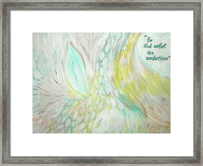 Comfort Framed Print by Cassandra Donnelly