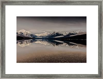 Lake Mcdonald Glacier National Park Framed Print