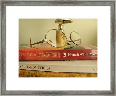 Framed Print featuring the photograph Comfort by John Williams