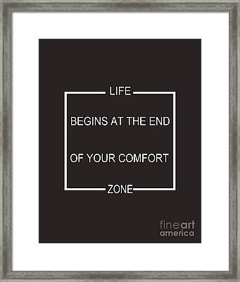 Comfort Zone Framed Print by Pati Photography