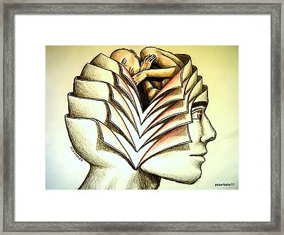 Comfort Zone Framed Print