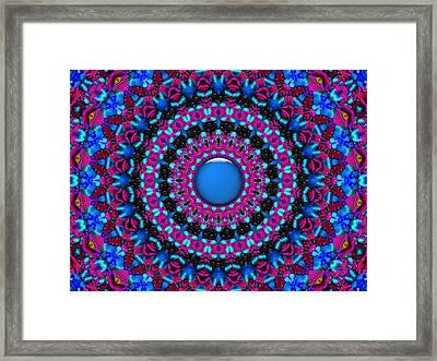 Framed Print featuring the digital art Comfort Zone by Robert Orinski