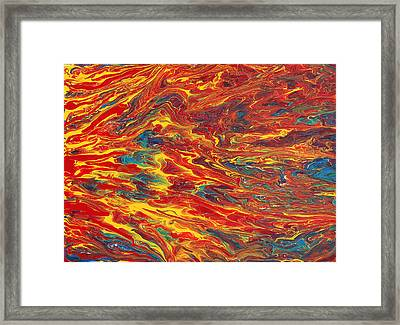 Comfortable Chaos Framed Print