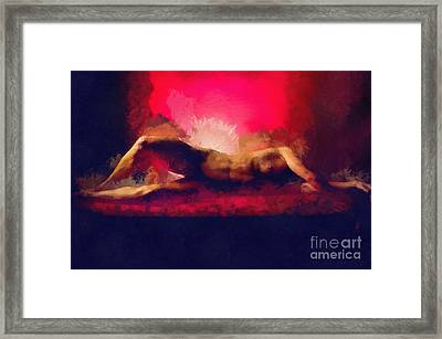 Comfortably Numb Framed Print by Exposed Arts