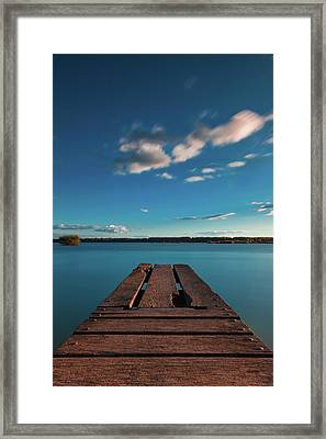 Framed Print featuring the photograph Comfortably Numb by Davor Zerjav