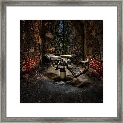 Comfortably Numb Framed Print by Evelina Kremsdorf