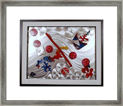 Comic Strip 13 Framed Print by Mac Worthington