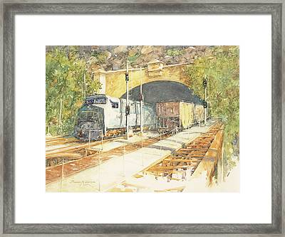 Coming And Going Framed Print by Thomas Sorrell
