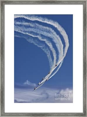 Coming Back From Heaven Framed Print by Angel  Tarantella