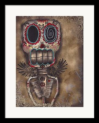 Gothic Art Folk Art Framed Prints