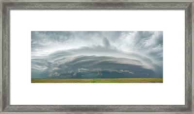 Coming From The North Framed Print