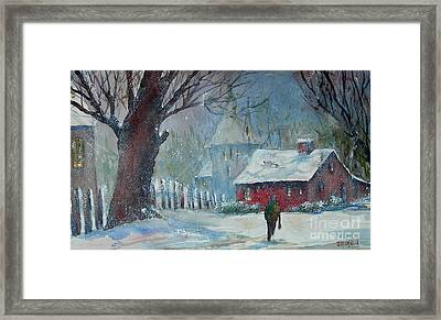 Coming Home 2 Framed Print by Joyce A Guariglia