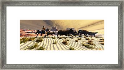 Coming Home Framed Print by Corey Ford