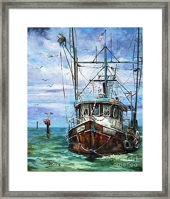 Coming Home Framed Print by Dianne Parks