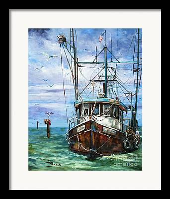 Gulf Of Mexico Framed Prints