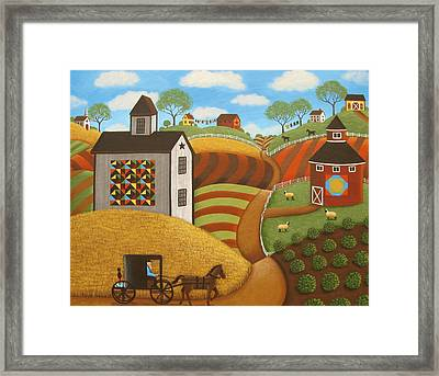 Coming Home Framed Print by Mary Charles