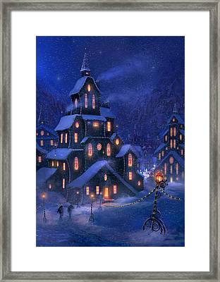 Coming Home Framed Print by Philip Straub