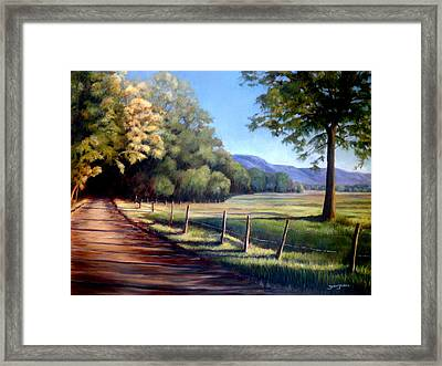 Coming Home Framed Print by Susan Jenkins