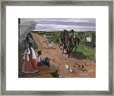 Coming Home Framed Print by Toni  Thorne