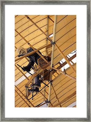 Coming In To Land You Chaps Framed Print by Jez C Self