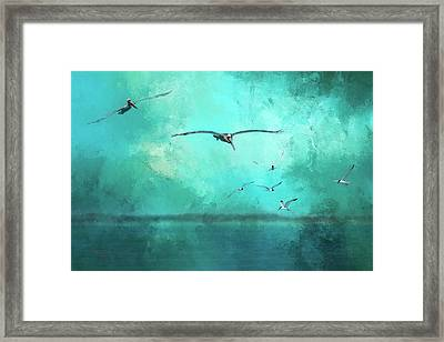 Coming Into View Framed Print