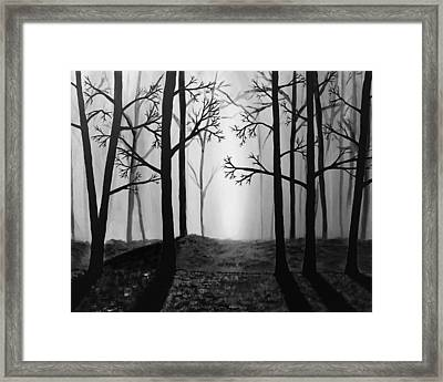 Coming Light Framed Print