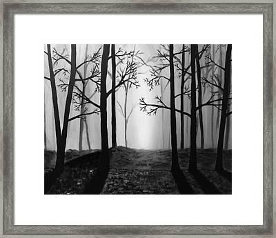 Coming Light Framed Print