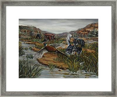 Coming Of Age Framed Print by Jim Olheiser