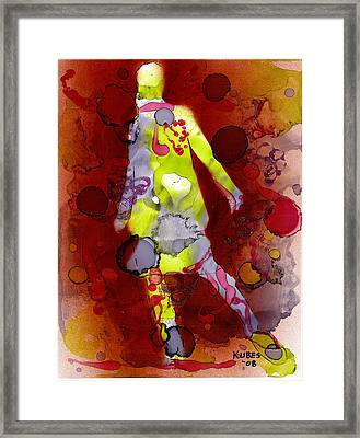 Coming Of Age Framed Print by Susan Kubes