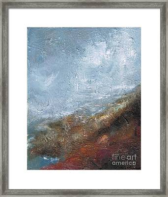 Coming Out Of A Fog Framed Print
