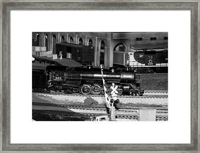Coming 'round The Bend Framed Print