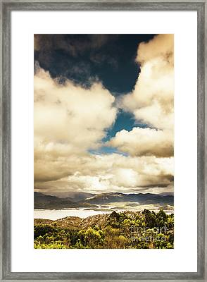 Coming Storms Framed Print by Jorgo Photography - Wall Art Gallery