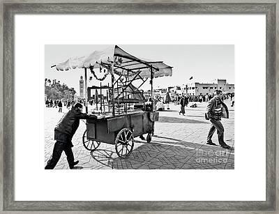 Coming Through... Framed Print by Marion Galt