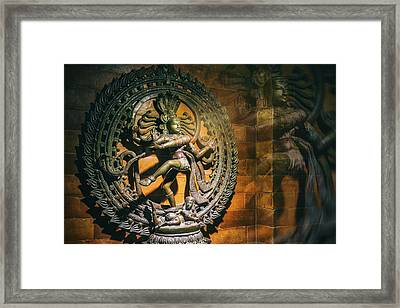 The Lord Of Dance Framed Print