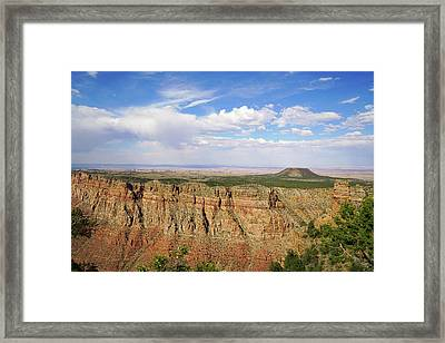 Coming To The End Framed Print