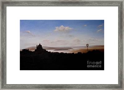 Comino Channel Malta Framed Print