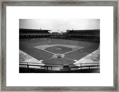 Comiskey Park, Baseball Field That Framed Print