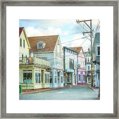 Commercial St #1 Framed Print